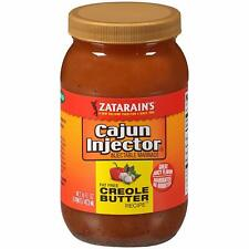 Zatarain's Cajun Injectors Creole Butter Recipe Injectable Marinade Refill 16 oz
