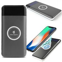CoverON Qi Wireless Charger + USB Power Bank for iPhone X / iPhone 8 Plus / 8
