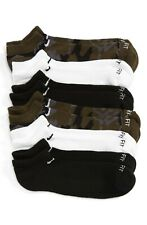 Men's Nike 6-Pack Dri-Fit No-Show Socks, Size Large