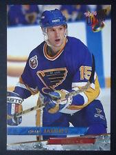 NHL 134 Craig Janney St. Louis Blues Fleer Ultra 1993/94
