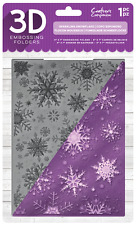 """Crafters Companion 5"""" x 7"""" 3D CHRISTMAS Embossing Folders / Stamps - FULL RANGE"""