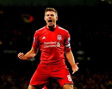 Steven Gerrard non firmate foto-f758-Liverpool CAPITANO