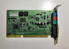 Sound Blaster 16 WavEffects CT4170 ISA Soundkarte für 386, 486