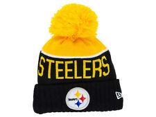 Pittsburgh Steelers NFL 2015 Sideline Sport Knit on The Field Era Beanie 463520cc6