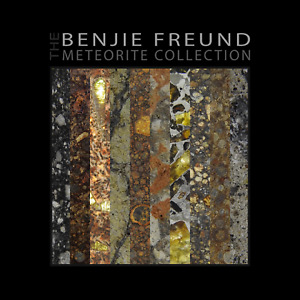 """The Benjie Freund Meteorite Collection - Hardcover Book - 12"""" x 12"""""""