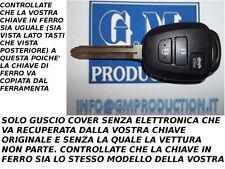 CHIAVE COVER GUSCIO PER TELECOMANDO 3 TASTI TOYOTA RAV4 AURIS 2013 COME DA FOTO