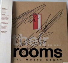 TVXQ JYJ Autographed Music Essay Their Rooms BOOK+CD New signed by JYJ members
