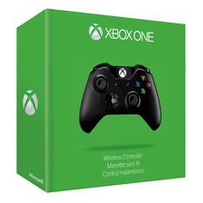 XBOX ONE BLACK WIRELESS CONTROLLER BRAND NEW SEALED 2ND GEN 3.5MM JACK PLUG PAL