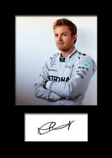 NICO ROSBERG #2 Signed Photo Print A5 Mounted Photo Print - FREE DELIVERY