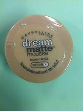 Maybelline Dream Matte Mousse Foundation HONEY BEIGE (MEDIUM-4) NEW.