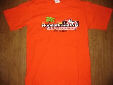 HONDA GRAND PRIX Florida St. Petersburg T shirt small 2008 IndyCar