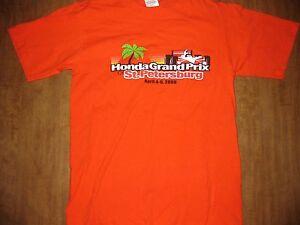 HONDA GRAND PRIX Florida St. Petersburg T shirt small 2008 IndyCar