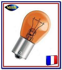 1 Ampoule Vega® Clignotant PY21W Orange inaltérable teinté masse 12496 12V