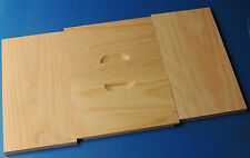 Beekeeping - 2 BEE BOXES 10 frame full depth, radiata, flat pack - postage extra