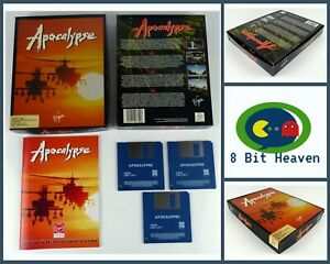 APOCALYPSE BY VIRGIN INTERACTIVE FOR COMMODORE AMIGA - TESTED & WORKING