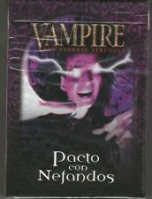 Sealed Spanish Deck Pacto con Nefandos Pact with Nephandi Black Chantry VTES