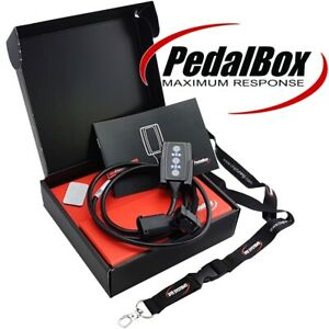 Dte Box Pedale 3S Con Portachiavi per Lancia Y 840A 59KW 10 2000-09 2003 1.2 16