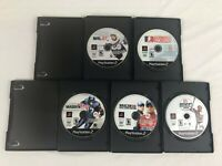 Lot of 5 PlayStation 2 PS2 games Madden NHL 07 NASCAR 06 case disc only tested