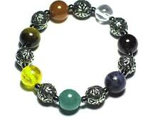 Chunky Celtic design Chakra Bead Bracelet. Balance and Harmony