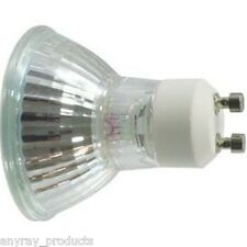 (10)-Pack  50W GU10 +C 50 Watt Back Light Bulb Halogen MR16 120 Volt  Anyray