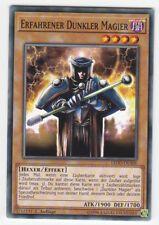 Yu-GI-OH Erfahrener Dunkler Magier Common LEDD-DEA06 NEU!