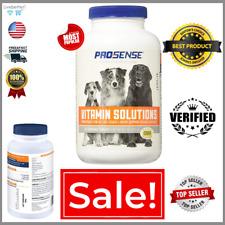 Pro Sense Multi-Vitamin 90 Pcs All Dogs & Puppy Health Pet Supplies NEW Formula.