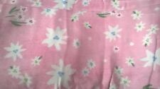 New Pottery Barn Kids Pink BLOSSOM Flannel Twin SHEETS floral