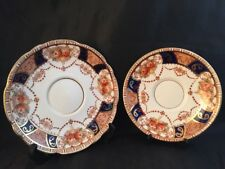 Vintage Salisbury Fine Bone China Atlanta design Saucers Bone China