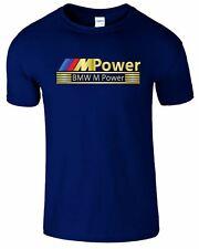 Mpower Mens T-Shirt Motorsport BMW Formula F1 Alpina Racing Unisex Cars Top Tee
