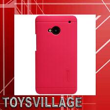 NILLKIN original back cover HTC One/m7, Case, protección bolsa rojo + lámina protectora, nuevo