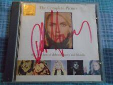 VERY RARE SIGNED DEBORAH HARRY THE COMPLETE PICTURE BEST OF BLONDIE CD ALBUM