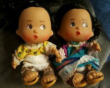 Retro Spanish Mexican Sombrero Senorita Dolls