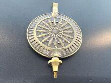 Seth Thomas Style Sunburst Adjustable Clock Pendulum