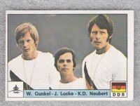 Sticker rowing Gunkel Lucke Neubert West Germany Olympic Montreal 1976 Panini DN