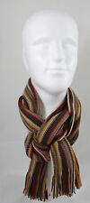 Schal Strickschal Streifen modisch mehfarbig 100% Wolle (Merino) 2361040-682-RT8