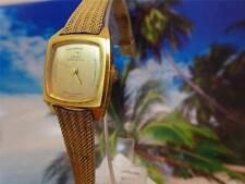 Elegant, Beautiful, Gold Plated Gold Dial Girard Perregaux Ladies' 21mm