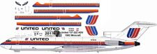 United Saul Bass Boeing 727-200 decals for Minicraft 1/144 kit