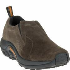 Merrell J60788 Women's Jungle Moc Slip On Shoe Gunsmoke Grey Suede