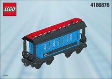 Lego 4186876 Blue Passenger Wagon from 4534 - BRAND NEW NISB MISB