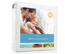 Linenspa Waterproof King Mattress Bedbug Protector Total Encasement New in Box