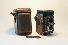 Very Rare Yashica D with Grey Leather. Free Worldwide Shipping