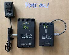 Teradek Bolt 300 Tx/Rx Set - HDMI ONLY