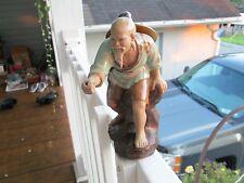 RARE+AMAZING!!Chinese Fisherman Figurine #52>>L@@K