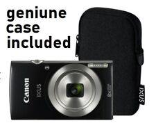 Canon IXUS 185 20MP 8x Zoom 2.7 Inch LCD Compact Digital Camera + GENUINE CASE