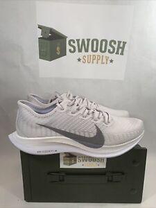 Nike Zoom Pegasus Turbo 2 Running Shoe Vast Grey Gunsmoke AT2863-002 Men's 11