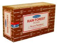 12pk Satya 15g Rain Forest Incense - Approx 12 sticks/pk