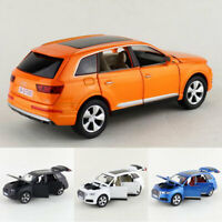 Audi Q7 1:32 Scale Model Car Metal Diecast Gift Toy Vehicle Kids Collection