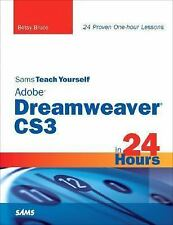 NEW - Sams Teach Yourself Adobe Dreamweaver CS3 in 24 Hours