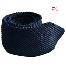 Fashion Men's Tie Knit Knitted Tie Necktie Narrow Slim Skinny Woven Men NiceGift