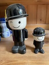 More details for homepride man collectable ceramic money bix and salt cellar very rare excellent